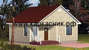 Проект дом «Вологда»