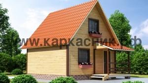 Проект дом «Дача 6×6»
