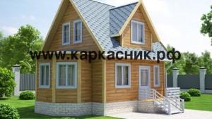 Проект дом «Рославльский с эркером»