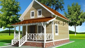 Проект дом «Владимир»