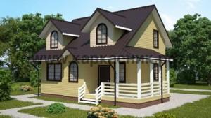 Проект дом «Альпийский»