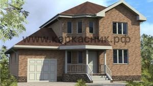 Проект дом «Кристалл»