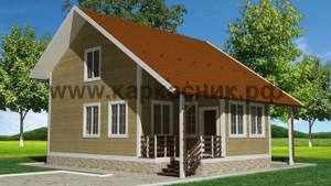 Проект дом «Лотос»
