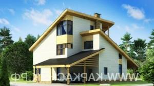 Проект дом «Модерн»