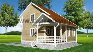 Проект дом «Рассвет»