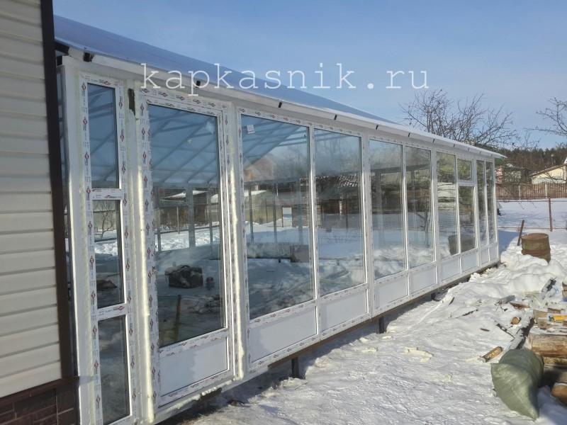 внешний вид зимнего сада